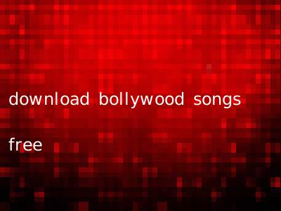 download bollywood songs free