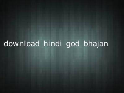 download hindi god bhajan