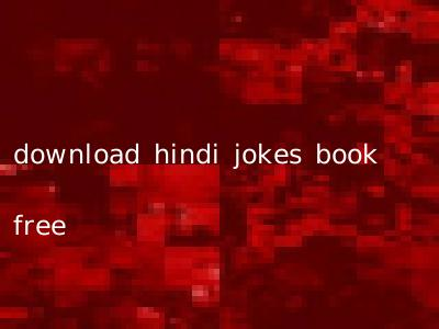 download hindi jokes book free