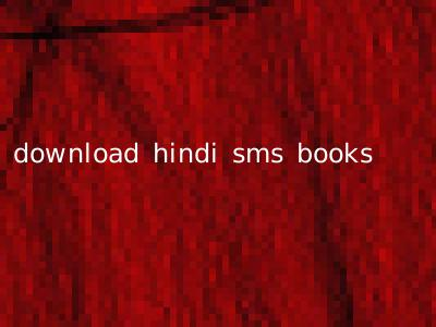 download hindi sms books