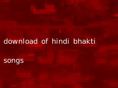 download of hindi bhakti songs