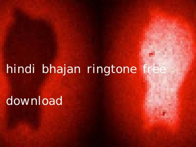 hindi bhajan ringtone free download