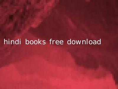 hindi books free download