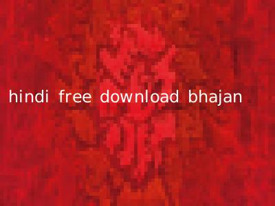 hindi free download bhajan